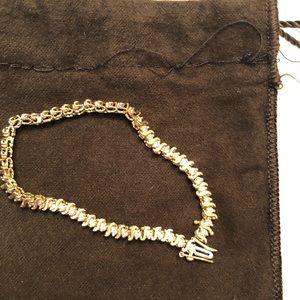 Jewelry - 14kt. Gld.tennis bracelet